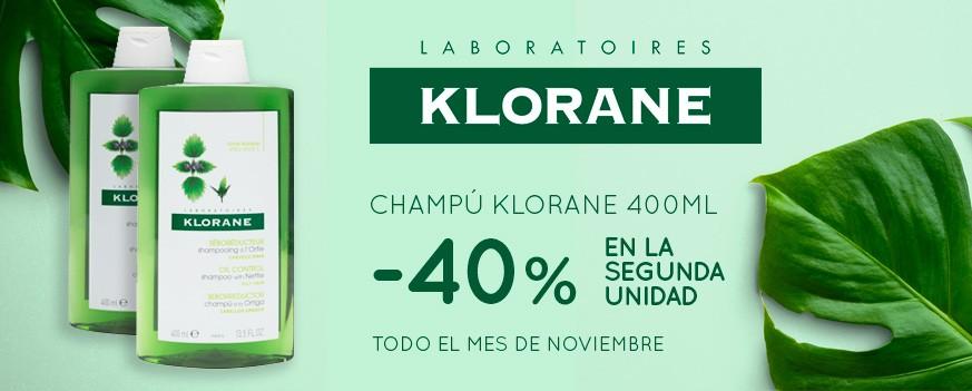 Champu Klorane 400ml